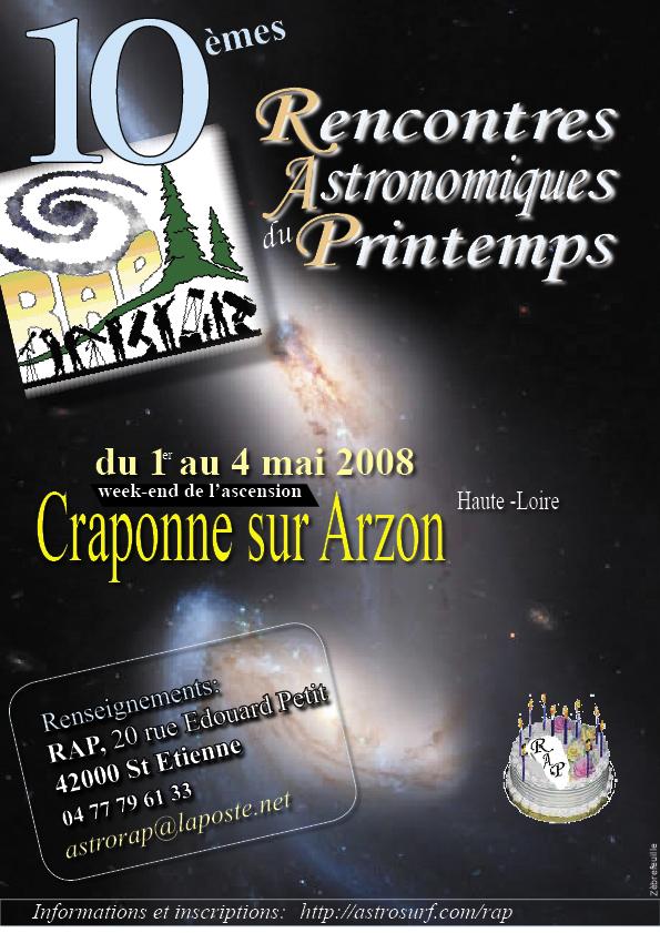 En bref : les Rencontres astronomiques de printemps sont de retour !